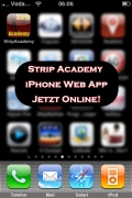 Strip Academy iPhone Web App jetzt online!